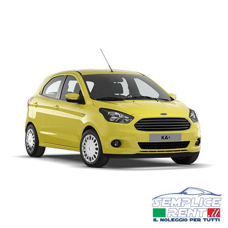 Ford Ka+ Noleggio Lungo Termine
