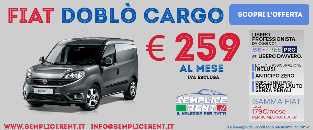 Fiat doblò cargo be free pro