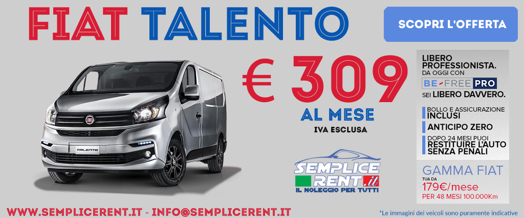 Fiat Talento Be Free Pro