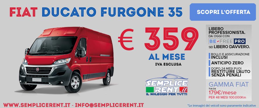 Fiat Ducato Be Free Pro