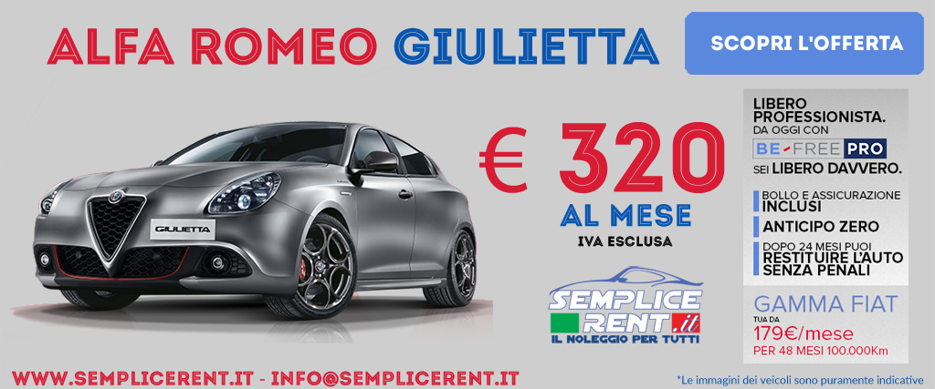 alfa romeo giulietta be free pro