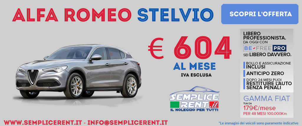 alfa romeo stelvio be free pro
