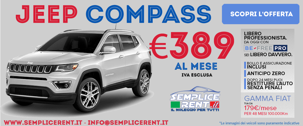 Jeep Compass Be Free Pro
